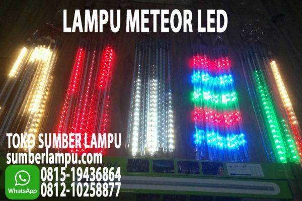 lampu meteor led