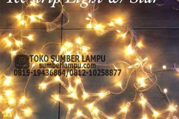 lampu natal bintang