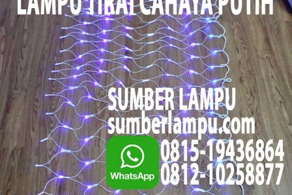 lampu tirai led
