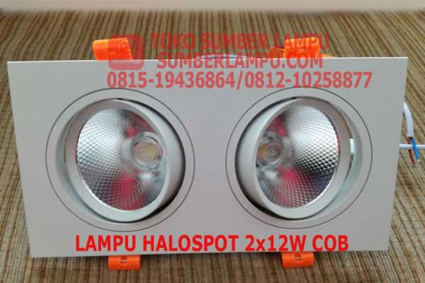 lampu halospot 2x12 watt