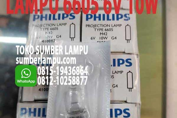 lampu 6605 6v 10w