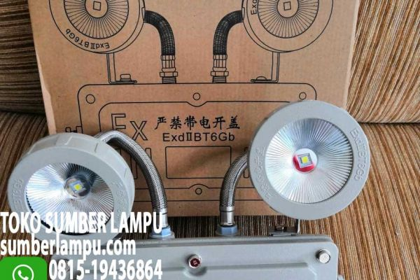 lampu emergency anti ledak