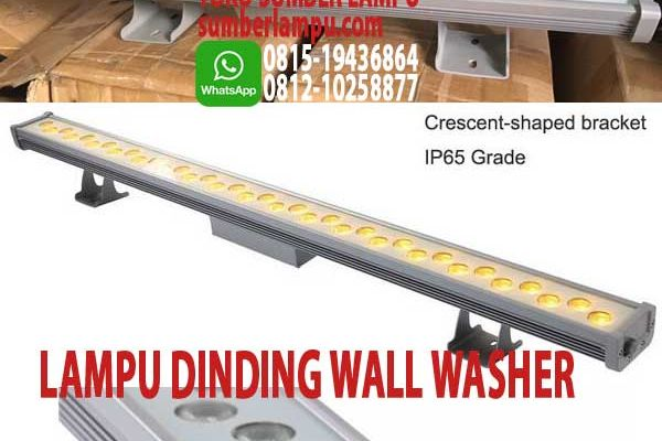 lampu dinding wall washer