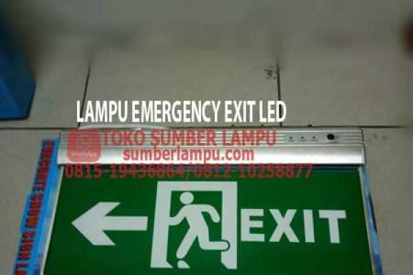 lampu exit led