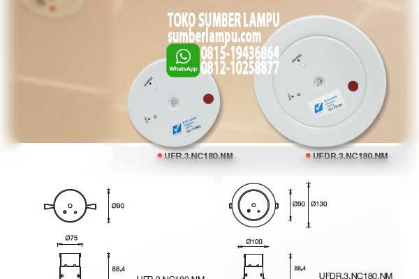 lampu emergency maxspid