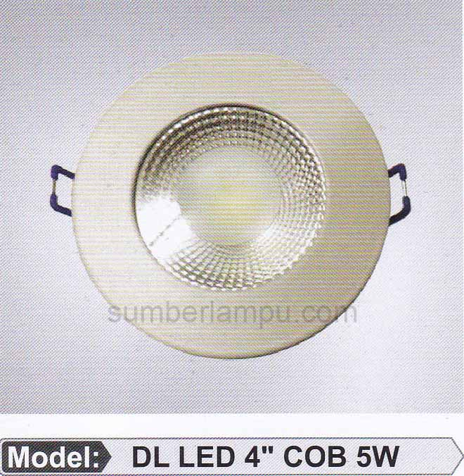 lampu LED ceiling 5 watt