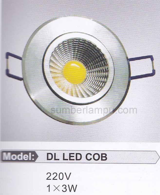 Lampu Downlight COB 1x3 Watt BOSSECOM
