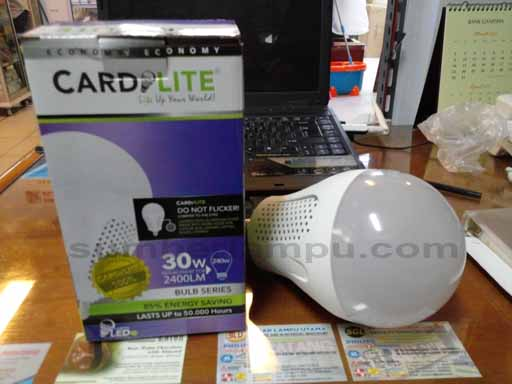 lampu LED Cardilite 30 watt