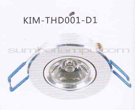 Lampu downlight LED THD001-D1