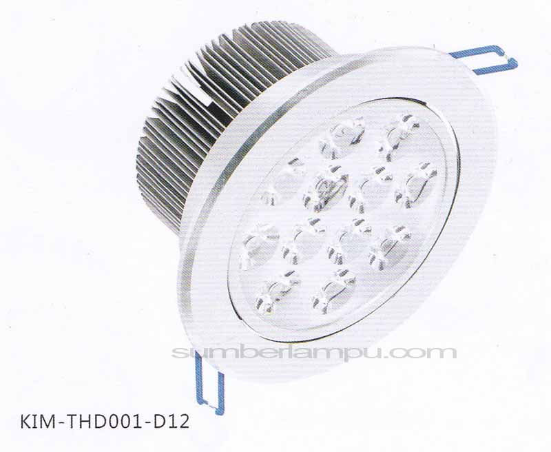 Lampu downlight LED THD001-D12
