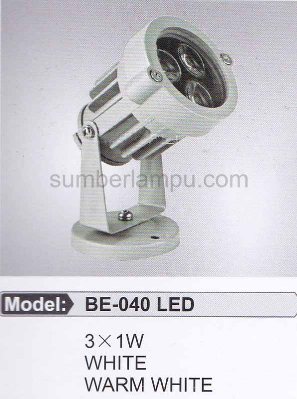 Lampu Taman BE-040 LED 3x1 watt