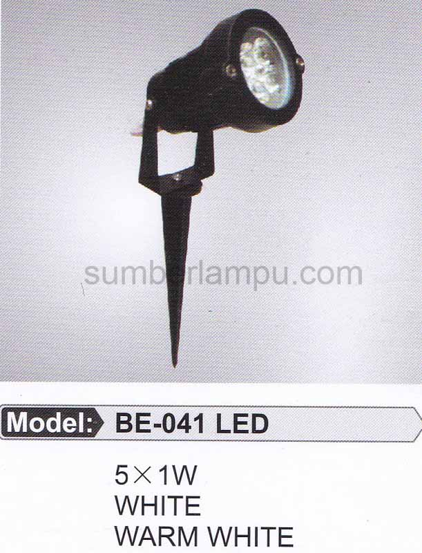 lampu taman BE-041 LED 5x1 watt