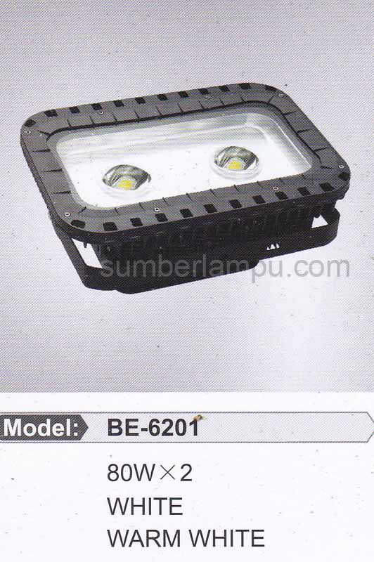 lampu sorot LED 2x80w BE-6201