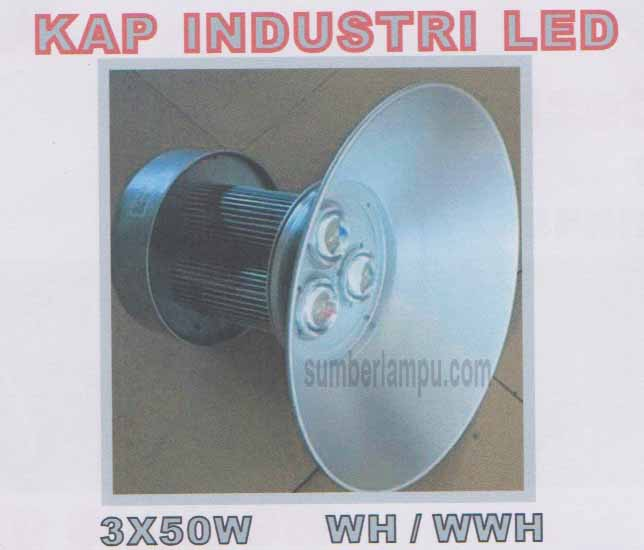 Lampu LED KAP Industri 3x50w
