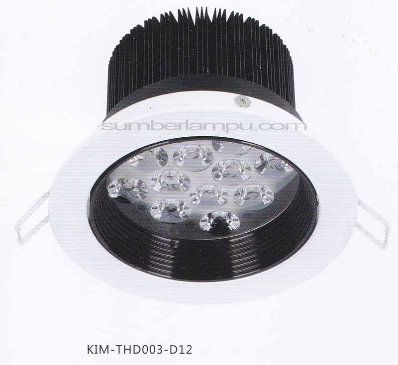 Lampu downlight LED THD003-D12