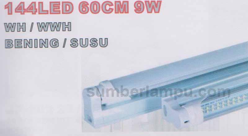 Lampu TL LED SMD 9 watt 60 centimter | Toko Sumber Lampu on
