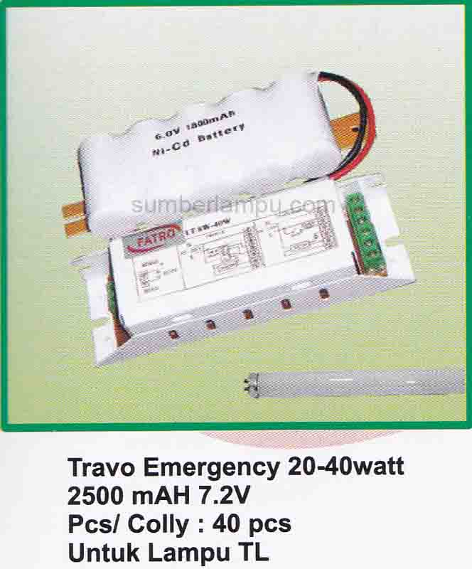 powerpack lampu emergency fatro