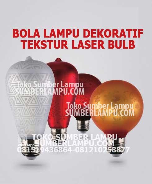 Jual Bola Lampu Led Dekoratif Aneka Model Laser Teksture