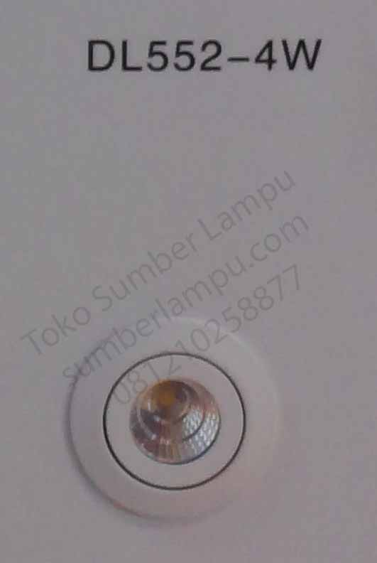 Lampu downlight LED DL552 4 watt