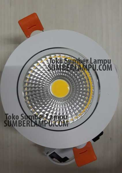 Lampu Downlight Luxmenn 7 watt COB