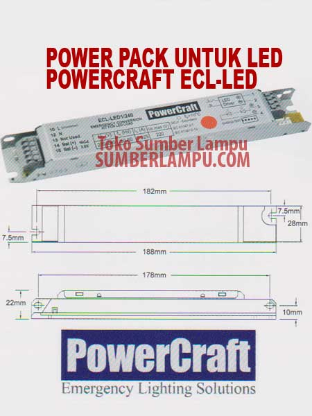 powercraft ecl led powerpack