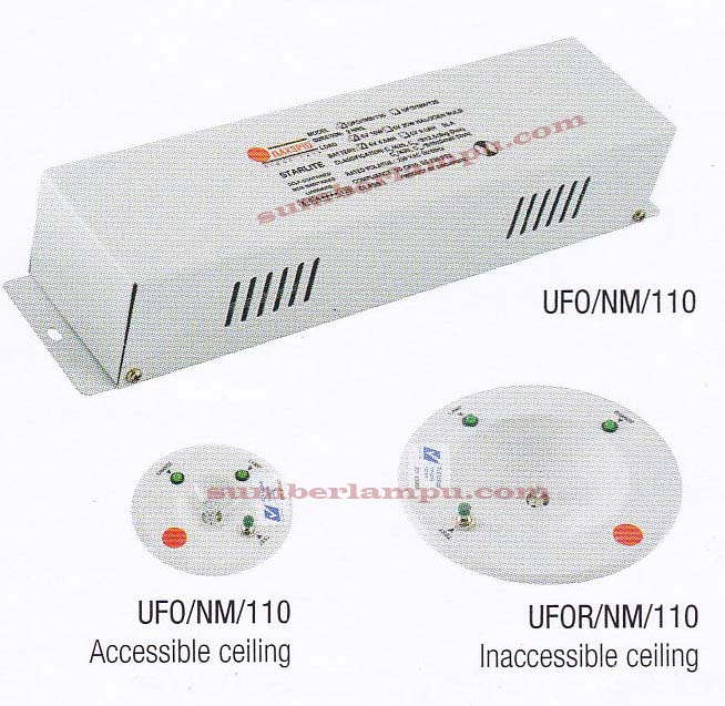 Lampu Emergency Maxspid UFO Halogen & LED