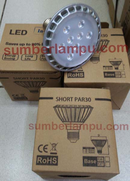 Lampu PAR30 LED Dimmable 11 watt  2700K