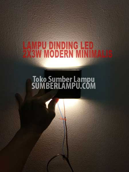 lampu dinding led 3 watt