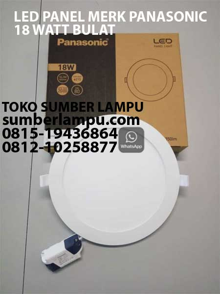 lampu downlight merk panasonic