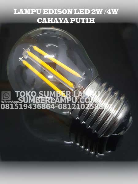 lampu edison led 4 watt