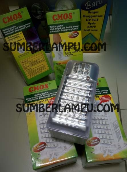 Lampu Emergency LED CMOS HK198