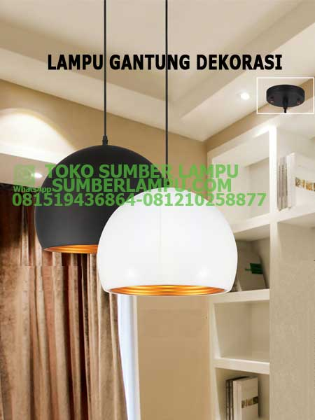 Dekorasi Lampu Cafe