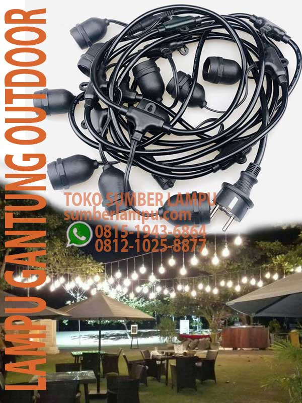 lampu gantung outdoor