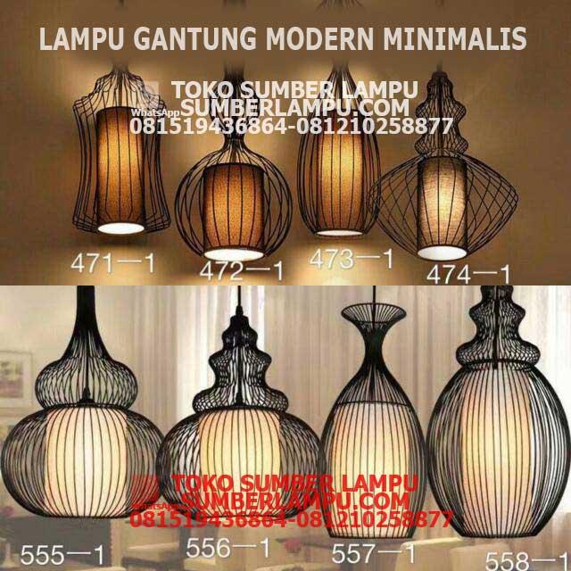 Lampu Resto Cafe Model Pendant Dekoratif Sumber Lampu Sumberlampu Com