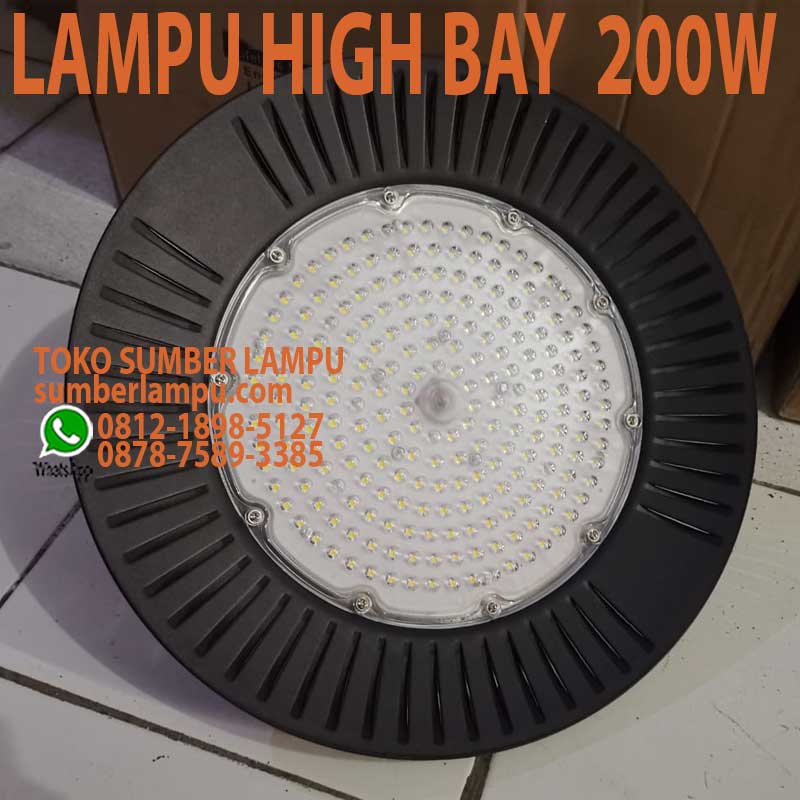 lampu high bay 200w