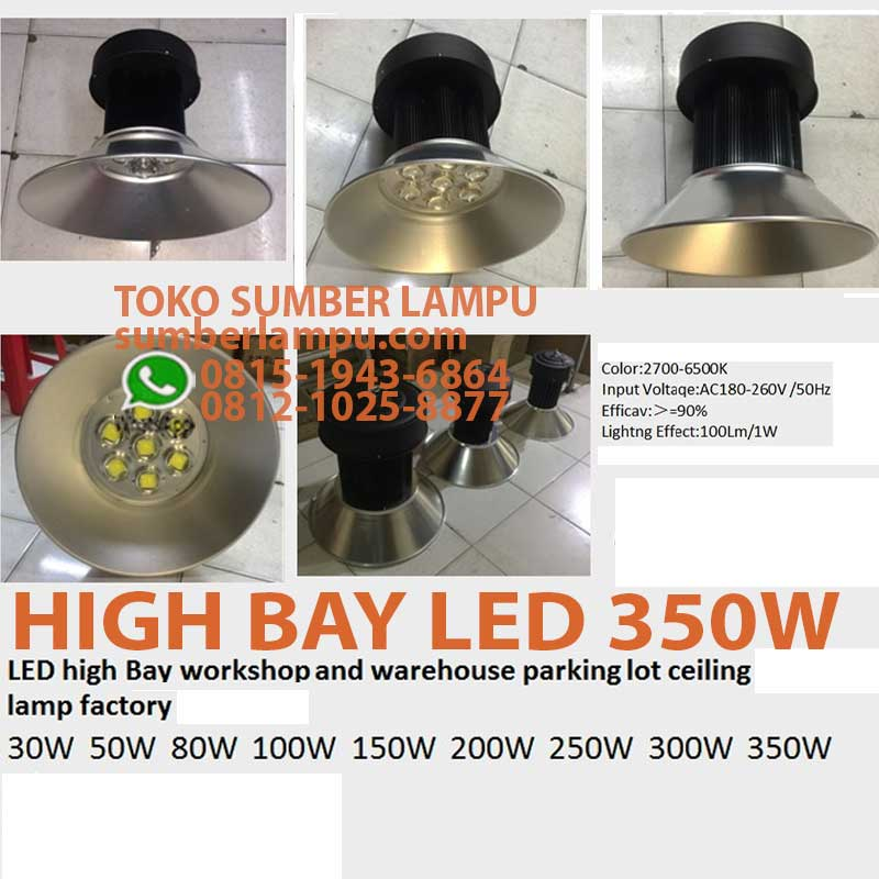 lampu high bay 350w