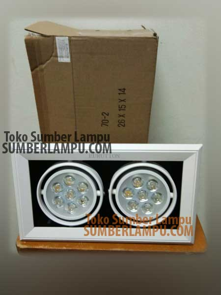 Lampu Halospot LED Eurution 2x7 watt