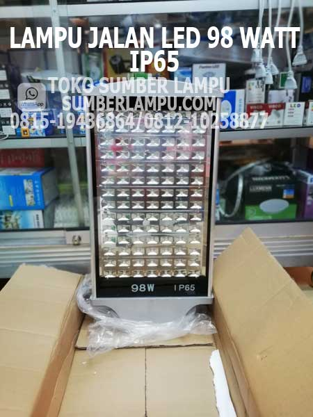 lampu jalan led 98 watt ip65