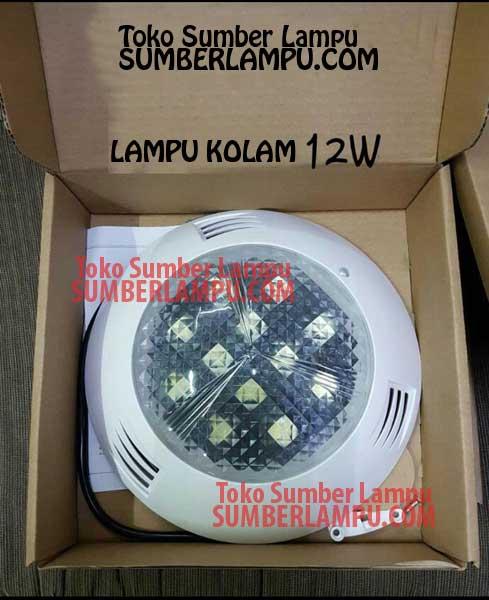 Lampu Kolam Renang LED 18 Watt 3 Warna
