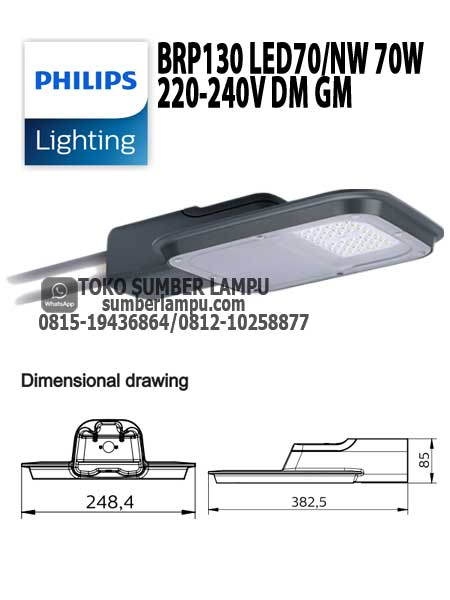 lampu philips brp130 70w