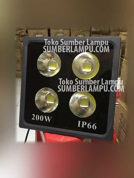 Lampu Sorot LED 200 watt COB IP66 Superbright