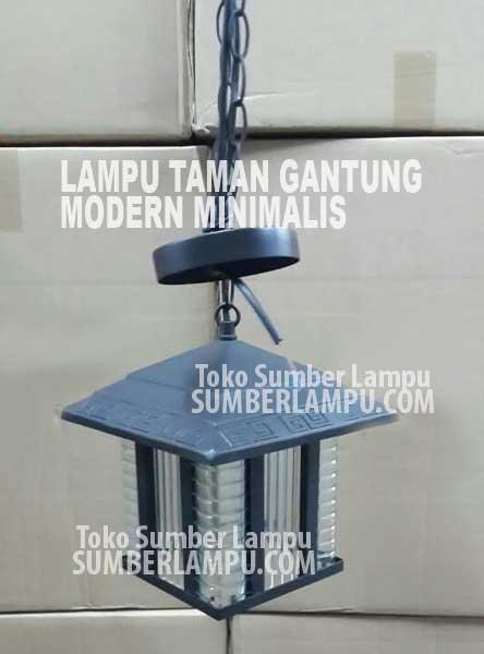 Lampu Taman Gantung Modern Minimalis