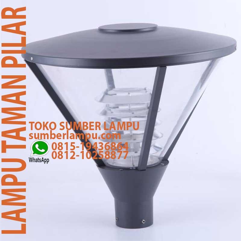 Jual Lampu Taman Minimalis O45 H60 Cm 1xe27 Sumberlampu Com