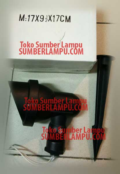 Lampu Taman MR16 Model Tudung Tusuk dan Screw
