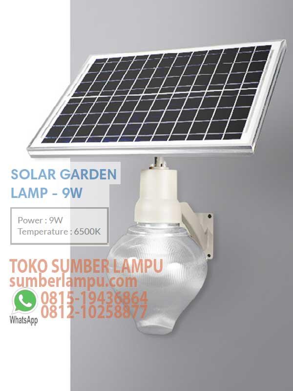 Jual Lampu Taman Solar Led 6w 6500k Sumberlampu Com