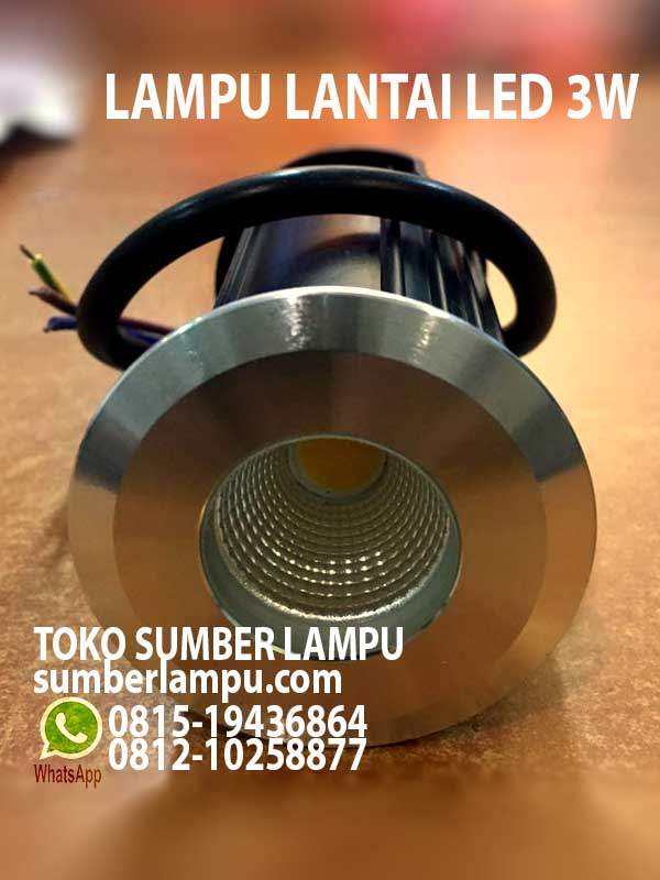 lampu uplight led 3w