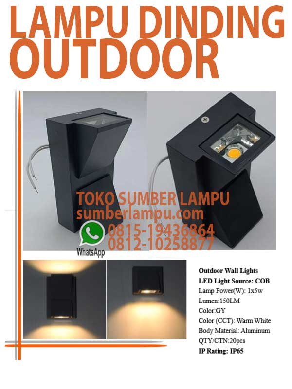 lampu wall light outdoor