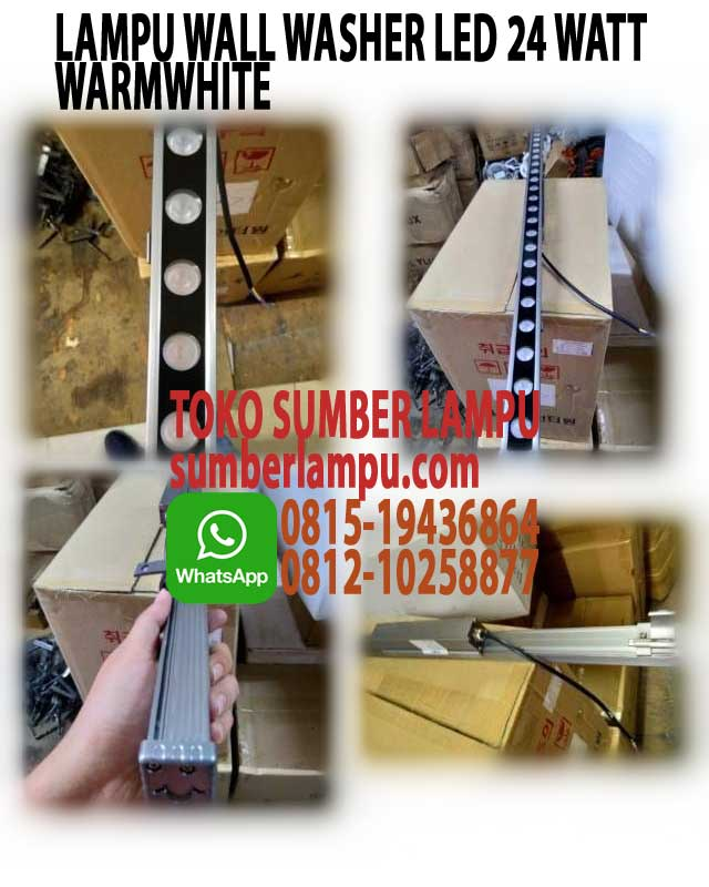 lampu wall washer led 3000k