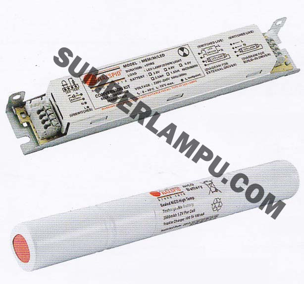 Emergecy KIT MAXSPID untuk Lampu LED