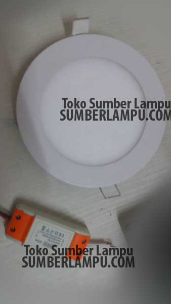 Lampu Downlight Panel 9watt Merk Luxmenn